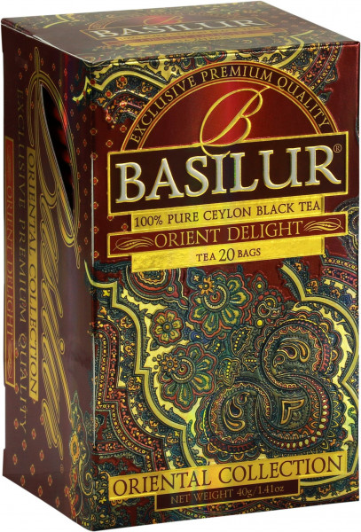 "Basilur Tea ""Oriental Delight"""