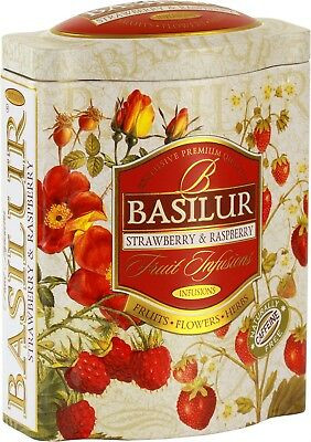 "Basilur Tea "" Strawberry & Raspberry"" Dose"
