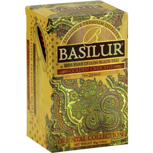 "Basilur Tea ""Golden Crescent"""