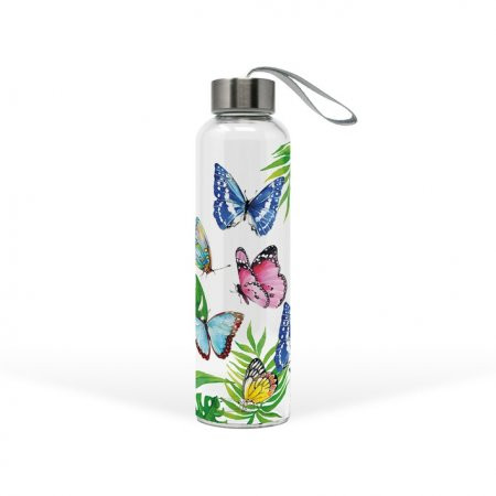 """Trinkflasche """"Tropical Butterfly"""""""