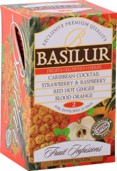 "Basilur Tea ""Fruits Infusions Assorted 2"""