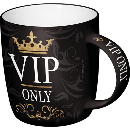 """Tasse """"VIP Only, Achtung"""""""