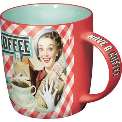 """Tasse """"Have A Coffee, Say It 50'S"""""""