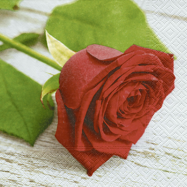 "Servietten ""Lovely rose*"