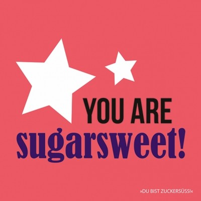 "Servietten ""sugarsweet"""