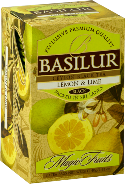 "Basilur Tea ""Lemon & Lime"" Teebeutel"