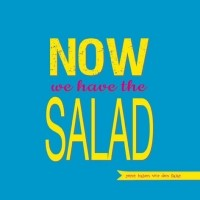 "Servietten ""now we have the salad"""