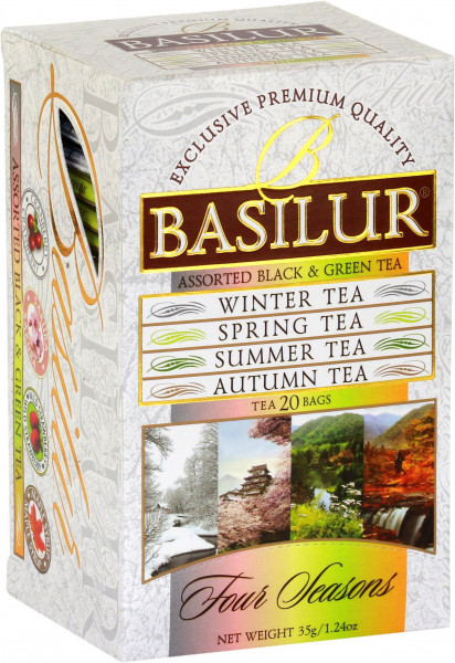 "Basilur Tea ""For Seasons Assorted"""