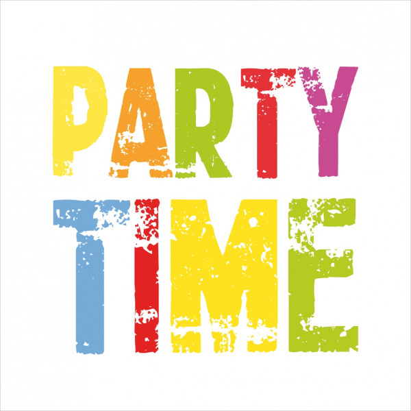 "Servietten ""Party Time"""