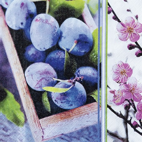 "Servietten ""Plum Season"""