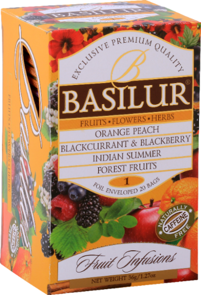 "Basilur Tea ""Fruits Infusions Assorted 1"""