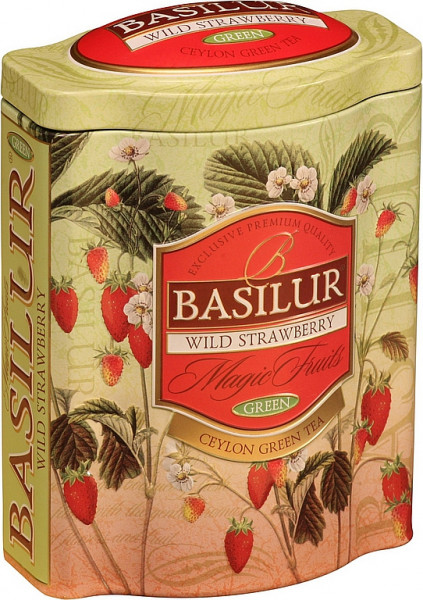 "Basilur Tea ""Wild Strawberry"" Dose"