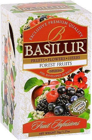 "Basilur Tea ""Forest Fruits"" Teebeutel"