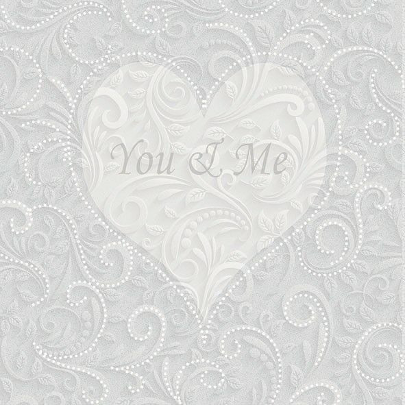 """Servietten """"You and Me"""""""